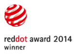 Red Dot Award 2014 Winner Logo